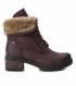 Pu Ladies Ankle Boots