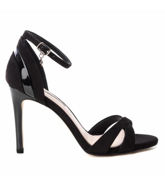Microfiber Combined Ladies Shoes