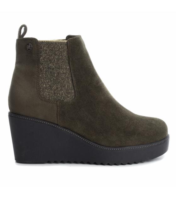 Microfiber Ladies Ankle Boots